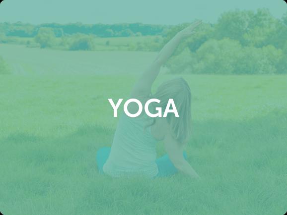 Vicky doing Yoga